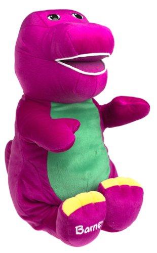 Amazon Com Jumbo Talking Barney Toys Games