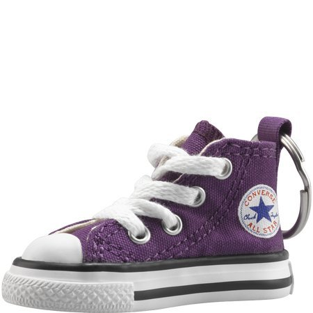 Converse Key Chain All Star Chuck Taylor Sneaker Keychain Authentic (Purple/white) ()