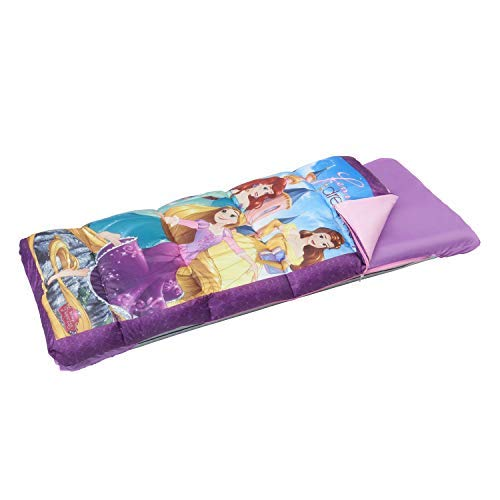 Exxel Disney Princess EZ Bed with attached sleeping bag -