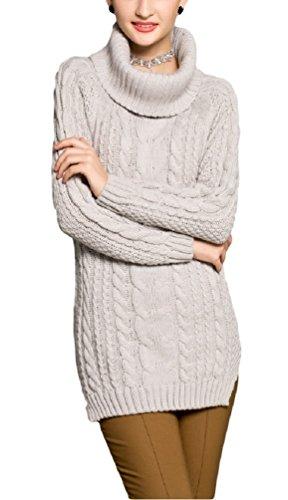 cowl neck knit - 8