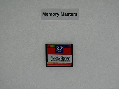 MEM2691-32CF 32MB Compact Flash upgrade for Cisco 2691 Routers(MemoryMasters)