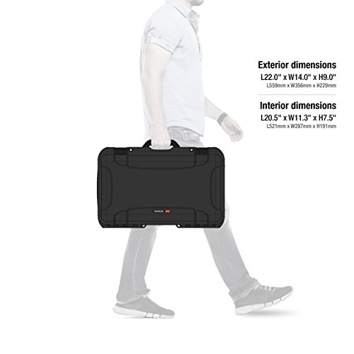 Nanuk 935 Waterproof Carry-On Hard Case with Wheels and Foam Insert - Black by Nanuk (Image #9)