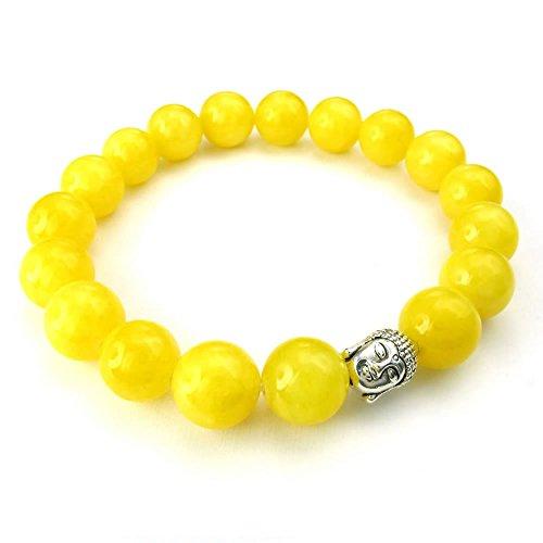 KONOV 10 12mm Natural Gemstone Bracelet