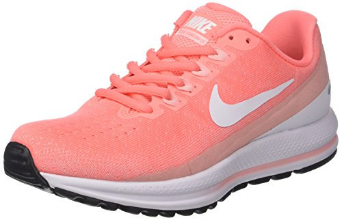 Vomero Chaussures Femme WMNS Zoom Running Pink Atomic de Noir Bleached White Lt 600 13 Nike Air Coral xqX84nE8t