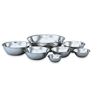 Vollrath 47938 Stainless Steel Economy Mixing Bowl, 8-Quart