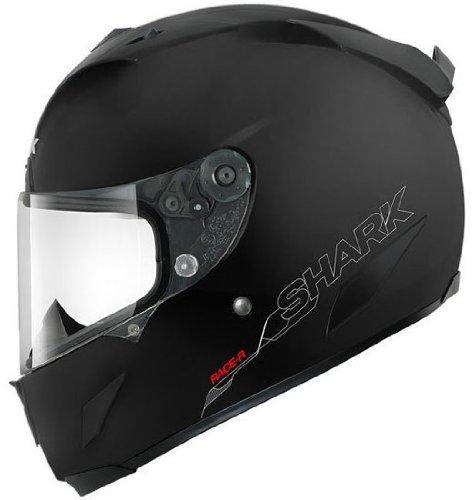 (Shark Helmets Shark Race-R Pro Blank Mat Black L)