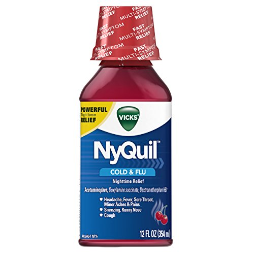 Vicks NyQuil Nighttime Relief Cherry product image