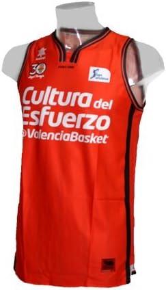 Luanvi Camiseta de baloncesto oficial Valencia Basket. Liga Endesa 2016/17. 1ª Equipación (M): Amazon.es: Deportes y aire libre
