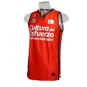 Camiseta de baloncesto oficial Valencia Basket. Liga Endesa 2016/17. 1ª Equipación (XXL): Amazon.es: Deportes y aire libre