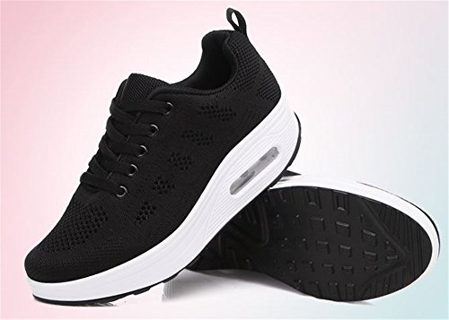Shake Shoes Luxury Platform Fitness Shape Sneakers Ups Toning Walking Women's 2018 Black Shoe qnwqBtxSv
