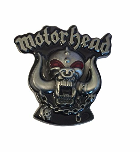 Motorhead Rock Band Logo Metal Enamel Belt - Buckles Rock Belt Music
