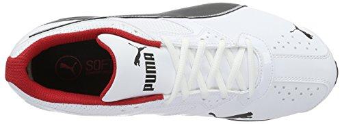 Puma Tazon 6 Fm, Zapatillas de Deporte para Exterior para Hombre Blanco (White-black-silver)