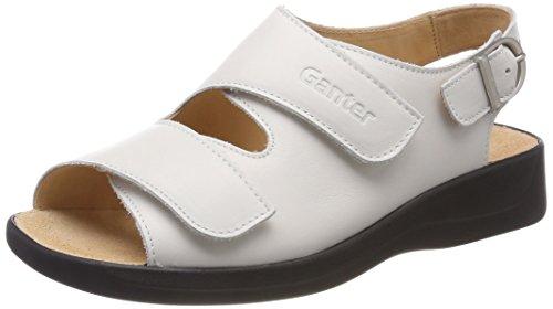 Ganter Ladies Monica-g Sandali Aperti Bianchi (bianco)