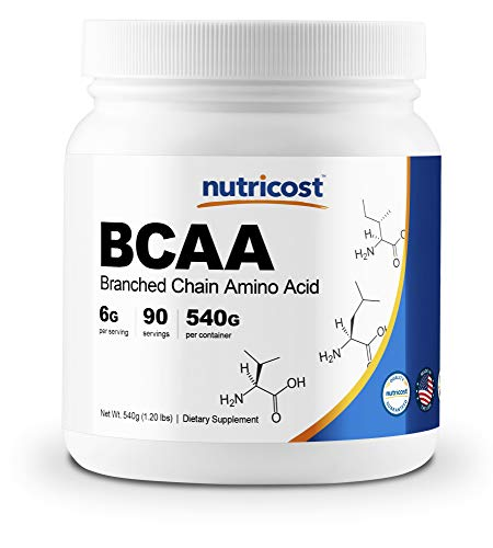 Bcaa Creatine Powder - Nutricost BCAA Powder 2:1:1 (Unflavored) 90 Servings - High Quality Branched Chain Amino Acids