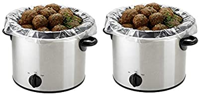 PanSaver EZ Clean Multi-Use Cooking Bags Slow Cooker Liners, 25 Count by PanSaver