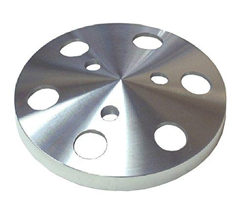 Sanden 508 Polished Billet Aluminum Clutch Pulley Cover A/C Compressor Billet - A/c Compressor Clutch Cover