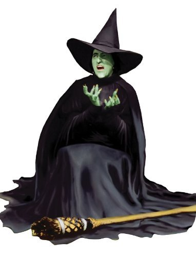 [The Wizard of Oz - Wicked Witch Lifesize Standup Cardboard Cutouts 46 x 52in] (Witch Cutouts)