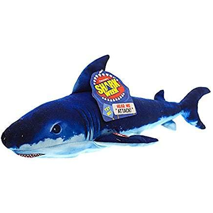 Shark Week Dark Mako Shark Plush 18