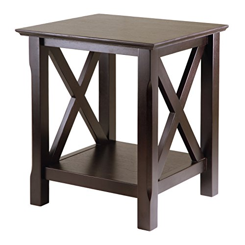 Laminate Occasional End Table - Winsome Wood 40420 Xola Occasional Table, Cappuccino