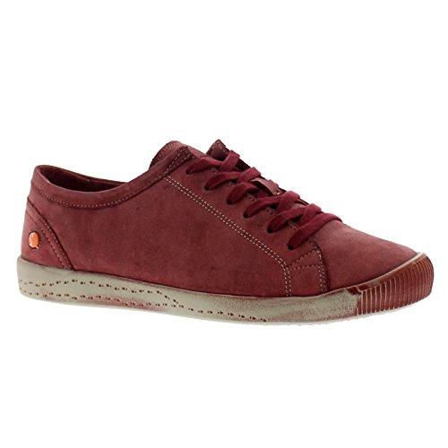 Womens Shoes Isla Leather Scarlet Softinos 6wdgqCg