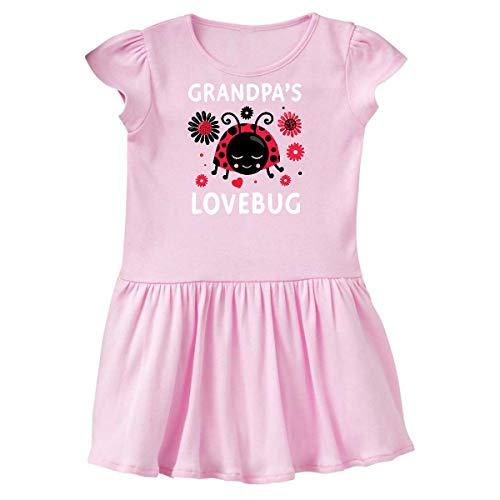 inktastic Valentine's Day Grandpa's Toddler Dress 2T Ballerina Pink 394ec