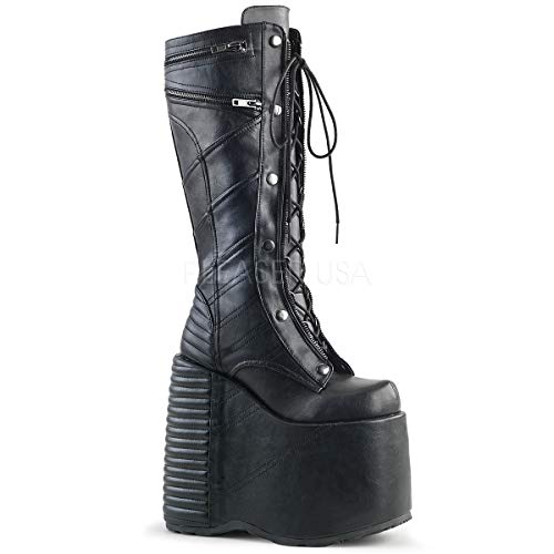 Demonia Women's Slay-320 Knee-High Boots -
