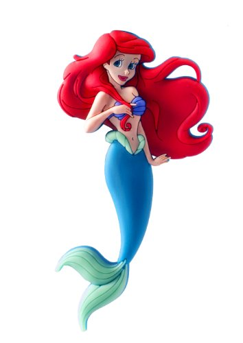 Disney Ariel Soft Touch PVC Magnet (Disney Refrigerator Magnets)