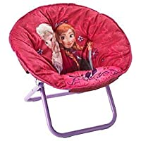 Disney Frozen Elsa & Anna Childrens Saucer Chair