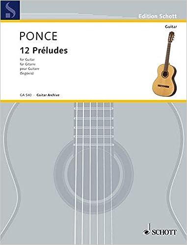 PONCE PRELUDES GUITAR PDF DOWNLOAD