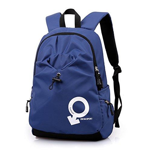 SunBao trendige Schultaschen Schultaschen Schultaschen männlichen Studenten schultern Paket Mitte Tourismus koreanische Sport Rucksack Mädchen High School in Leisure Travel, dunkel blau blau B0768Y7WQG Ruckscke Die erste Reihe von umfassenden Spezifikationen für Kunden d73d8e