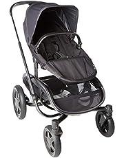 Quinny Hubb Mono XXL shoppingvagn, stor shoppingkorg, enkel vikbar barnvagn, användbar från ca 6 månader till ca 3,5 år
