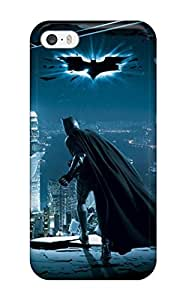 Flexible Tpu Back Case Cover For Iphone 5/5s - The Dark Knight ()