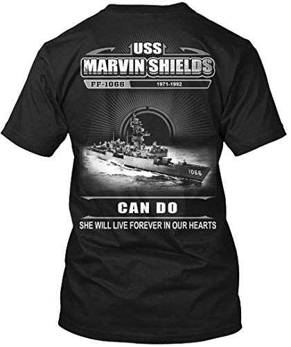 (Sigma Fores- USS Marvin Shields (FF-1066) - T-Shirt - Get It Now! Black)