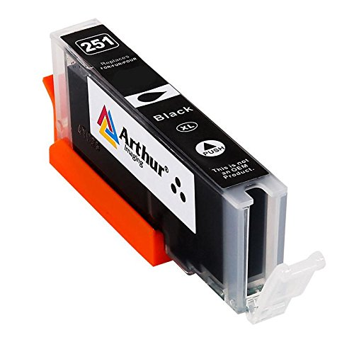 28 Pack Arthur Imaging Compatible Ink Cartridge Replacement for 250XL 251XL (12 Large Black, 4 Small Black, 4 Cyan, 4 Yellow, 4 Magenta, 28-Pack) Photo #3