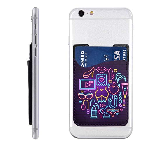 PHONECARD48 Sex Shop Neon Concept Mobile Phone Card Package PU 2.4
