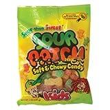 SOUR PATCH KIDS PEG BAG 5 OUNCES 12 COUNT