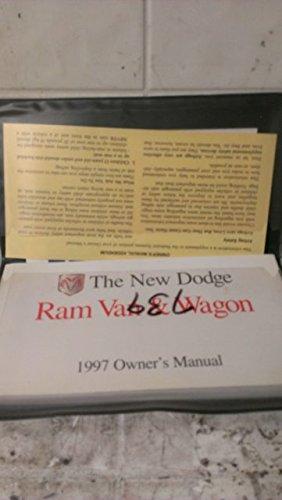 1997 New Dodge Ram Van & Wagon Owners Manual (Owners Van Wagon Ram Manual)