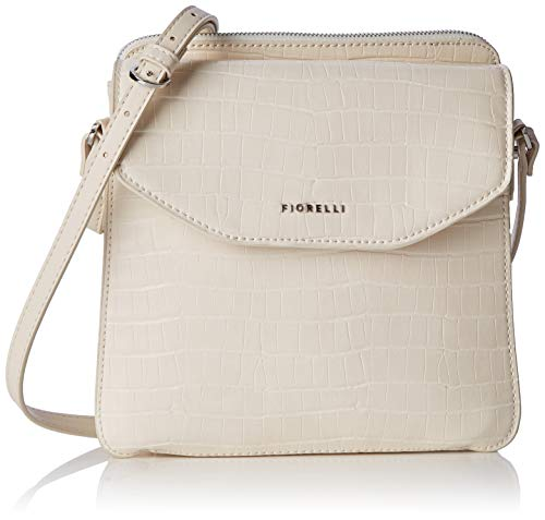 Fiorelli Womens Taylor Messenger Bag Beige (Cream Croc)
