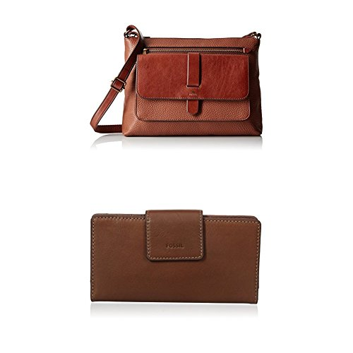 Fossil Kinley Crossbody with Emma Tab Wallet Rfid, - Bag Mini Fossil Body Leather Bag Cross