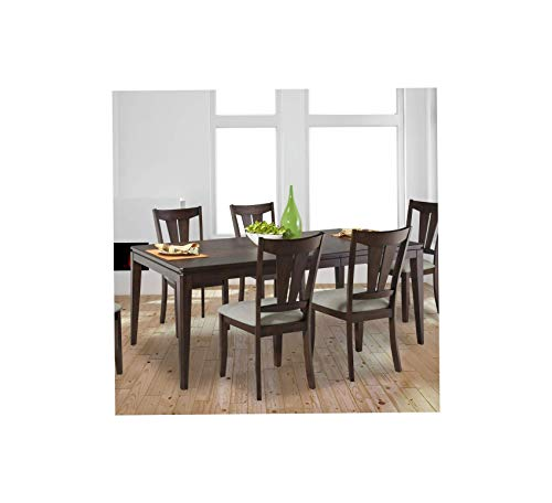 Wood & Style Furniture Cameron Casual Dining Table-Matching Chairs Sold Separately Home Office Commerial Heavy Duty Strong Décor