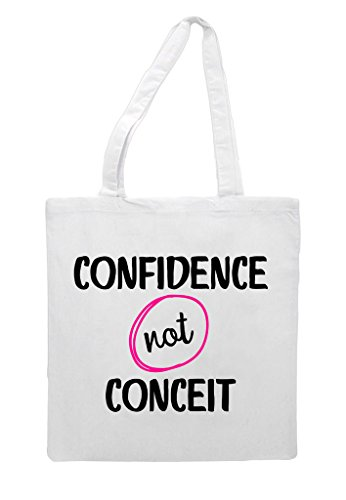 Confidence Shopper Statement White Conceit Not Bag Tote pqrpZwB