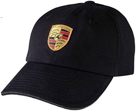 a711f7a6306 Amazon.com  Porsche Black Crest Logo Cap