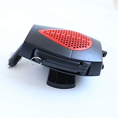 SLONG Calefactor De Automóvil Defogginger Defroster 12V 24V Calentador De Calefacción Vehículo Portátil Pequeño...