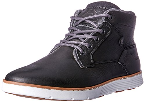Wild Rhino Men Napier Trainers Shoes Black (BLACK)