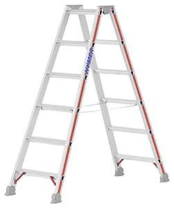 Hymer 402412 - Escalera de mano (aluminio, 12 peldaños)