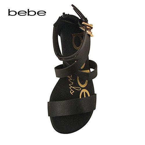 bebe-toddler-girl-gladiator-sandal-with-back-zipper-and-buckles-7-8-black