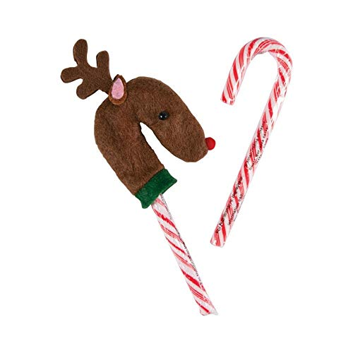 Reindeer Candy Cane Covers ()