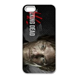 Unique Design Cases Hexvl iPhone 5, 5S Cell Phone Case Daryl Dixon in The Walking Dead Printed Cover Protector