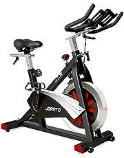 دراجة هوائية بقرص دوار ذو حزام محرك مع مقاومة مغناطيسية من جوروتو، دراجة تدريب ثابتة للمنزل