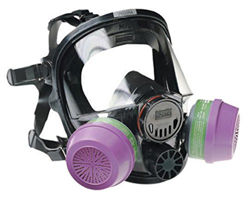 North 760008A Silicone Full Facepiece Respirators 7600 Series - Face Piece (Standard Supplied Air Respirator)